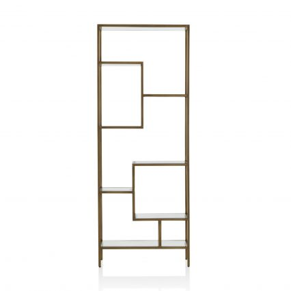 Arden Mirrored Shelving Unit