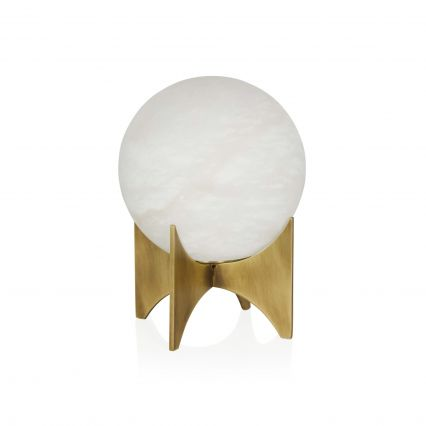 Baleno Alabaster Desk Lamp