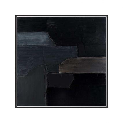 Black on Black - Abstract Study 1