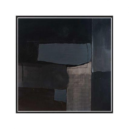 Black on Black - Abstract Study 2