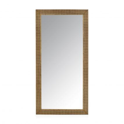 Farlen Floor Standing Metal Mirror