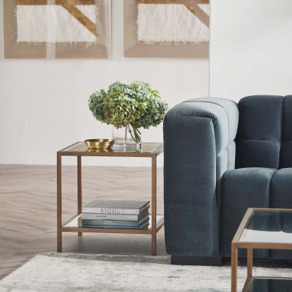 Arden Mirrored Side Table