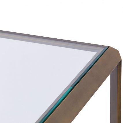 Max Glass Console Table