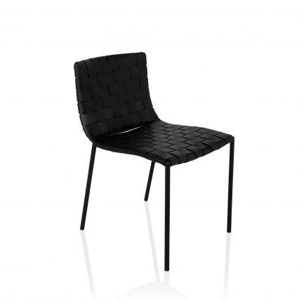 Milano Woven Leather Dining Chair