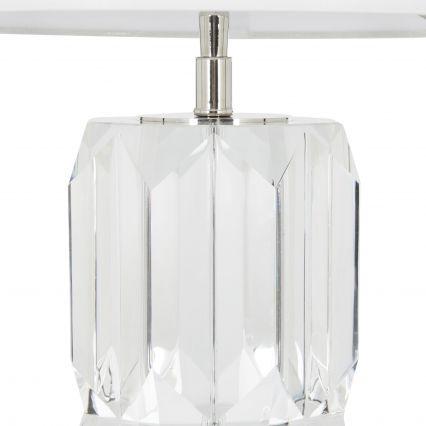 Nala Octagon Cystal Table Lamp