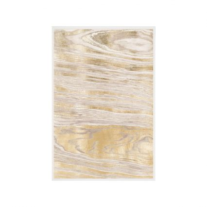 Gold Wood Grain Wall Art 1
