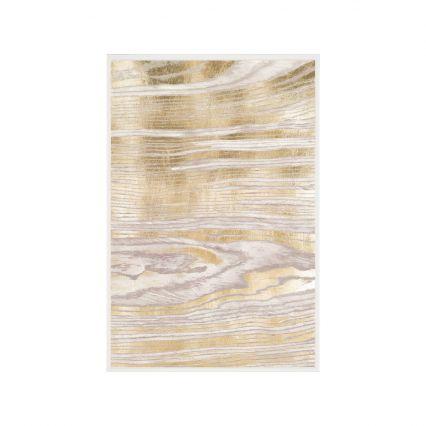 Gold Wood Grain Wall Art 2