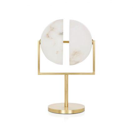 Orb Alabaster Task Lamp