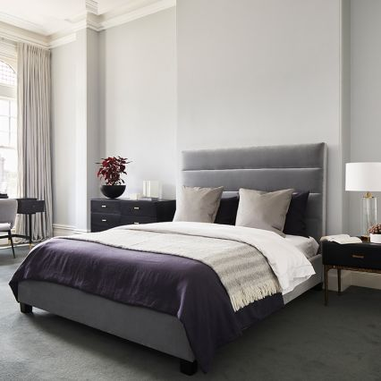 Blaire Horizontal Panelled Bed