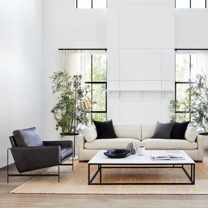 Stratten Slope Arm Sofa