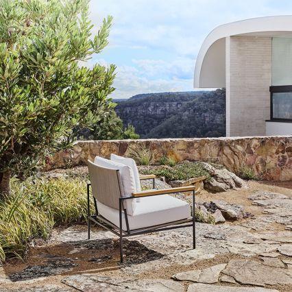 Deus Outdoor Lounge Chair