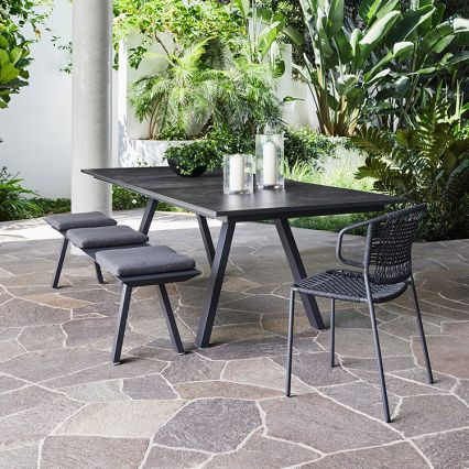 St Martin Outdoor Extension Dining Table