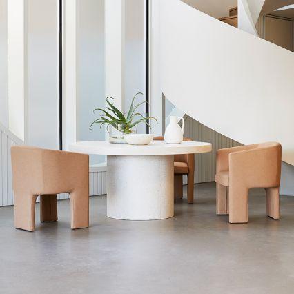 Regent Concrete Indoor/Outdoor Dining Table