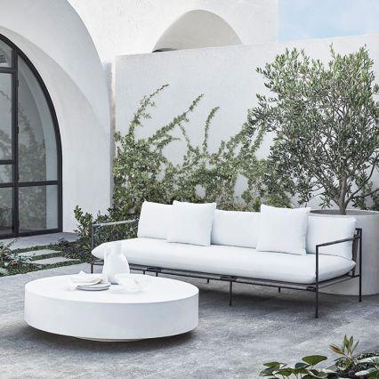 Monaco Round Concrete Coffee Table