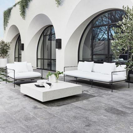 Monaco Square Concrete Coffee Table