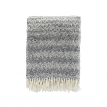 Mini Chevron Wool Throw