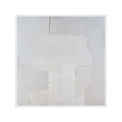 White on White - Abstract Study 2