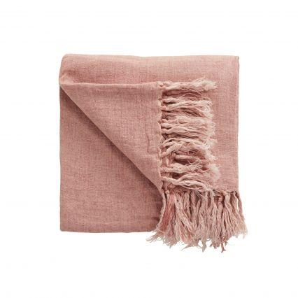 Zivah 100% Linen Throw